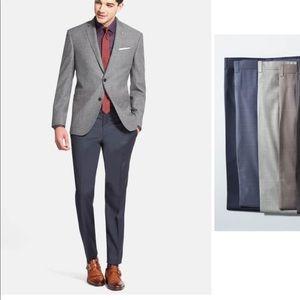 {NWOT} TED BAKER Jefferson Flat Front Wool Pants